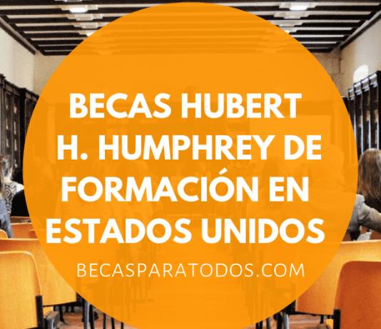 Becas Hubert Humphrey, formación para chilenos en Estados Unidos