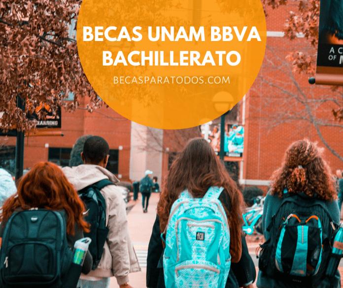 Becas UNAM BBVA para bachillerato