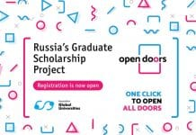 Competencia Open Doors, becas de maestría en Rusia