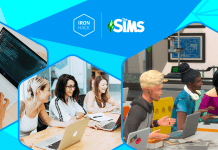 Becas Iron Hack The Sims para carreras tech