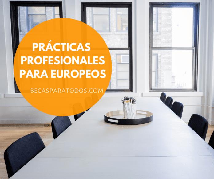 Prácticas profesionales Eurodisea, para europeos
