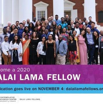 Becas Dalai Lama para jóvenes líderes mundiales