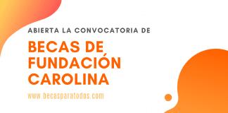 Fundación Carolina becas 2020, convocatoria.