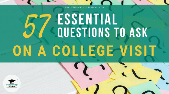 57 Vital Concerns to Ask on a College Go To