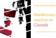 Convocatoria de residencia de escritura en Canadá, BANFF
