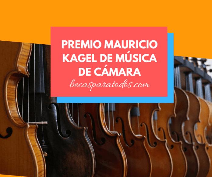 Premio Mauricio Kage de música, Academic community Nacional de Bellas Artes