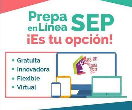 Prepa en línea SEP, convocatoria 2020