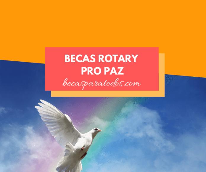 Becas Rotary para estudios de paz