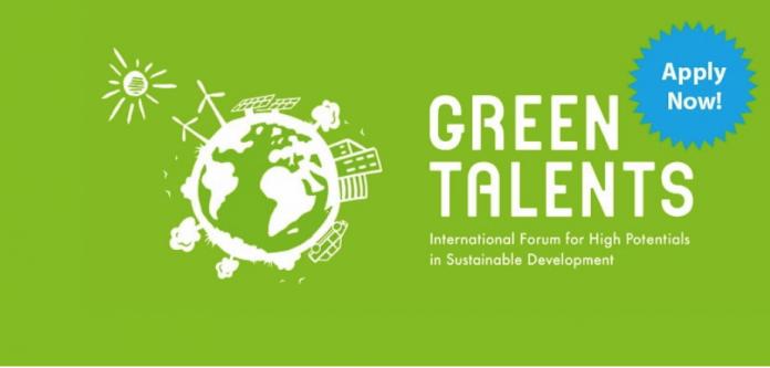 Concurso internacional Green Talents para desarrollo sustentable