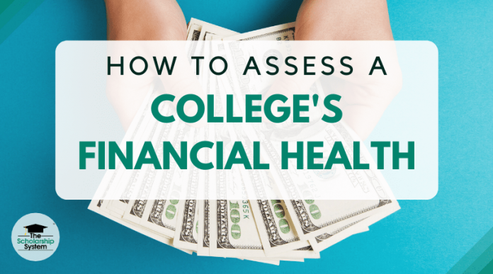 How to Examine a College's Financial Health