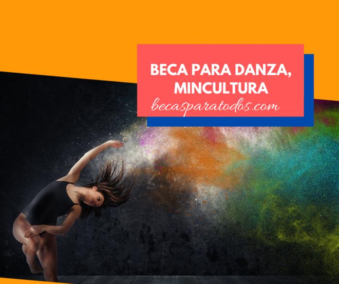 Beca para danza y tecnología digital, MinCultura