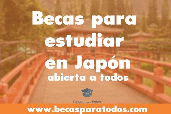 Becas MEXT de investigación y posgrado en Japón, convocatoria internacional.