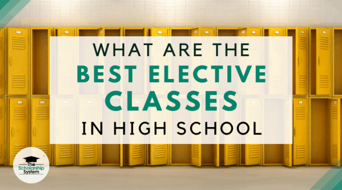 What Are the very best Optional Classes in High School?
