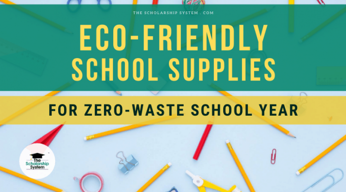 Eco-Friendly School Material for No Waste Academic Year