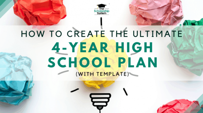 How to Develop the Ultimate 4-Year High School Strategy (with Design Template)