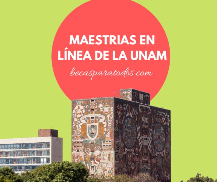 Maestrías en afiliación UNAM