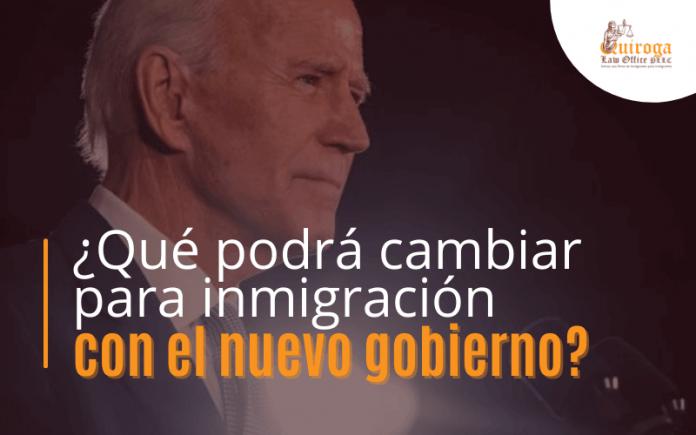 ¿ Qué podrá cambiar para inmigración con el nuevo gobierno?