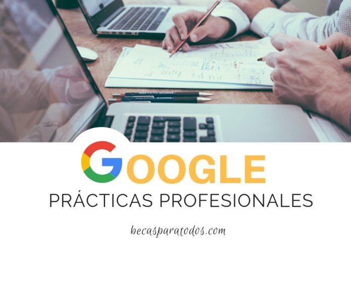 Haz tus prácticas profesionales en Google