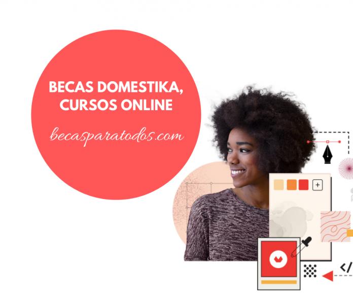 Becas Domestika para personalities creativas, cursos online