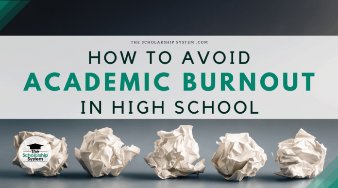 How to Prevent Academic Burnout in High School