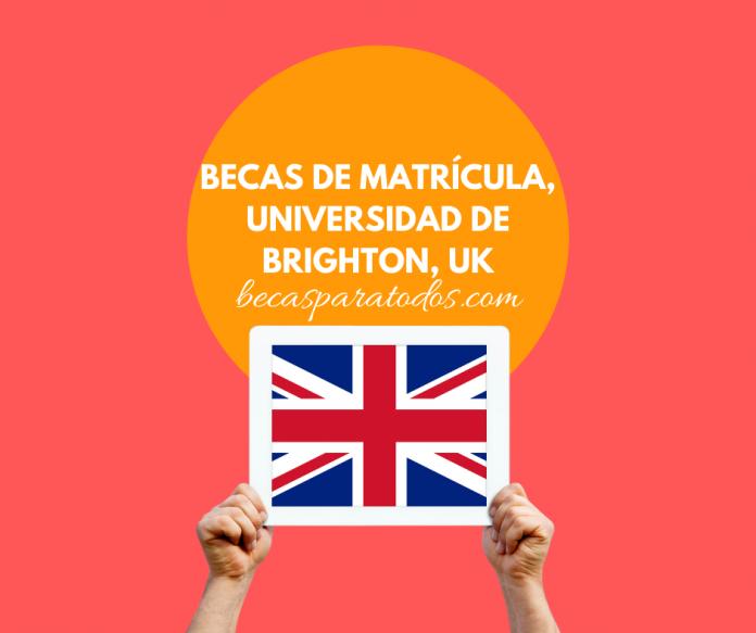 Becas internacionales de grado, Universidad de Brighton, en Reino Unido