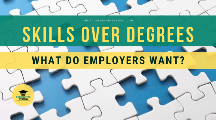 Abilities Over Degrees– What Do Companies Desire?