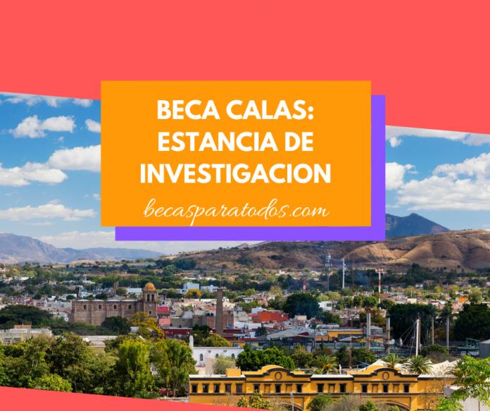 Becas CALAS, estancia de investigación en México