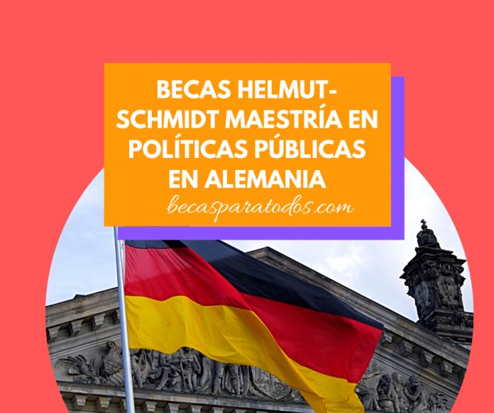 Becas Helmut-Schmidt maestrías en Políticas Públicas en Alemania