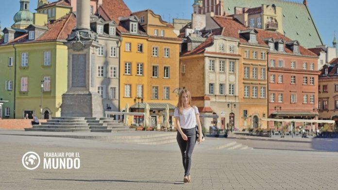 Web del Gobierno de España para buscar empleo en Polonia