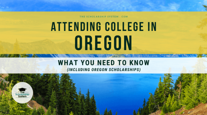 Going To College in Oregon