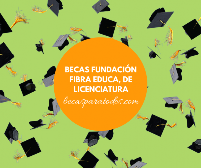Becas Fundación Fibra Educa, para licenciatura