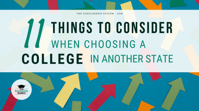11 Things to Think About When Selecting a College in Another State