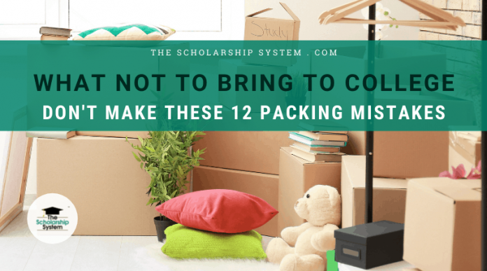 What NOT to Give College: Do Not Make These 12 Loading Errors